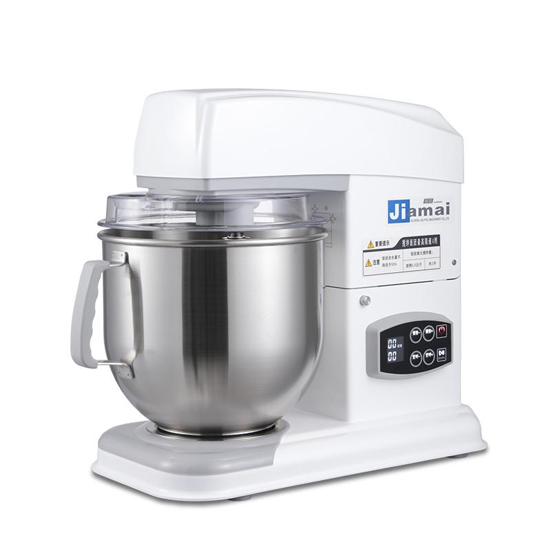 佳麦电子版多功能厨师机7LGS商用私房蛋糕搅拌奶油机全自动和面机