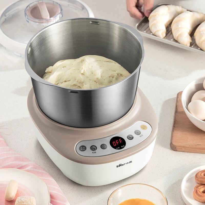 小熊和面机家用小型电动全自动揉面发酵活面机面粉搅拌打面厨师机