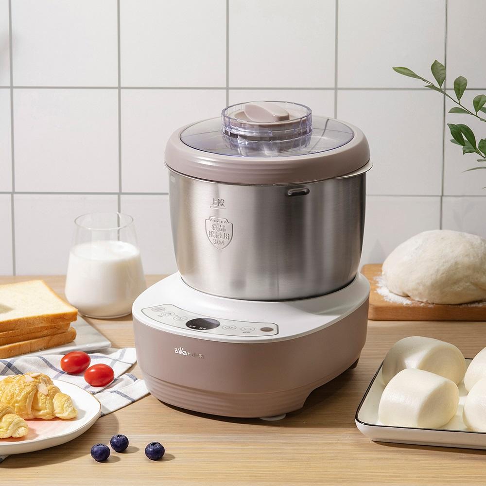 小熊和面机家用多功能揉面粉合活面机小型全自动绞搅拌发酵厨师机