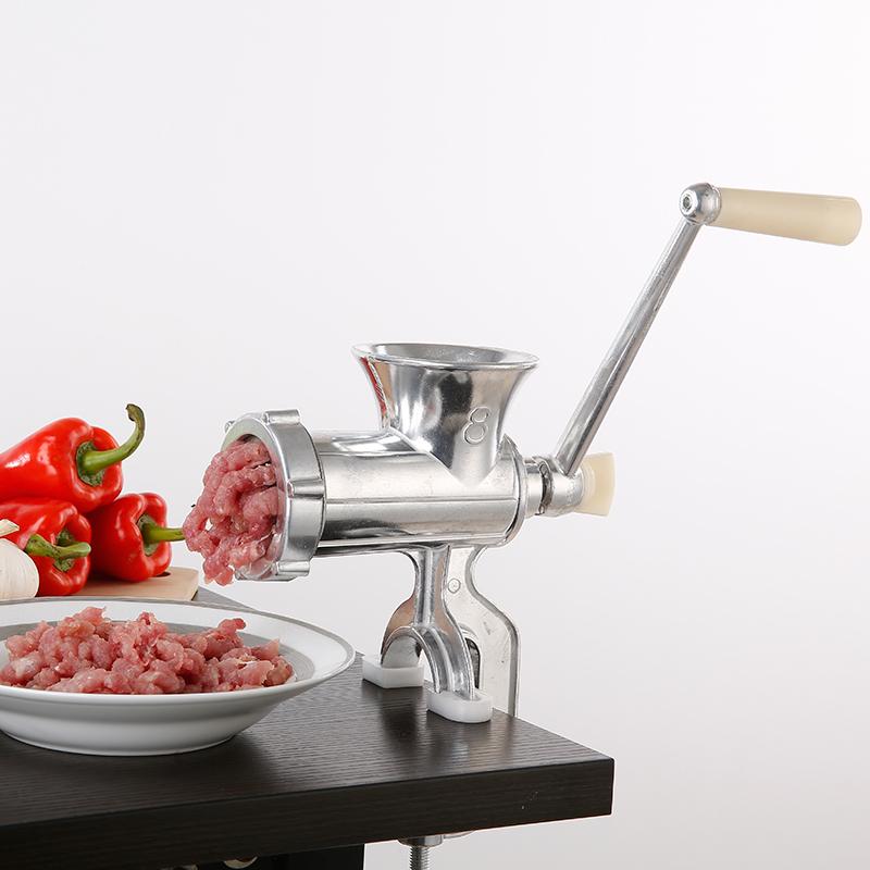 灌肠机 磨粉机辣椒粉小型搅肉机 多功能打肉碎肉机家用手动绞肉机