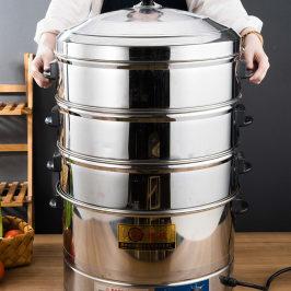 多层电热蒸锅大容量商用超大电蒸笼机馒头小笼包蒸汽炉蒸菜柜蒸箱