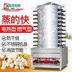 全自动特大号蒸炉不锈钢防干烧昌华厨具蒸气炉馒头机蒸包炉蒸箱