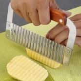 切凉皮网格刀波浪狼牙土豆机切条切丁黄瓜切条神器切凉粉豆腐块家