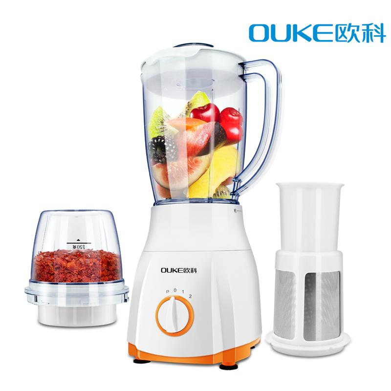 欧科 OK1013料理机多功能家用豆浆婴儿辅食小型搅拌机榨汁果汁机