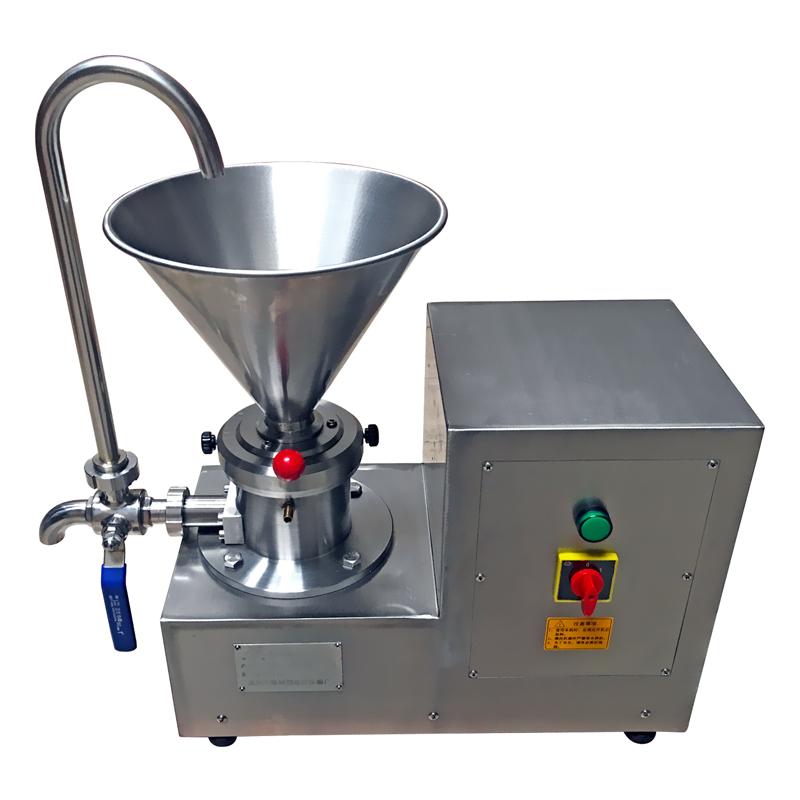 JMS60分体式胶体磨酱机 食品级研磨芝麻花生酱中药膏液羊汤乳化机