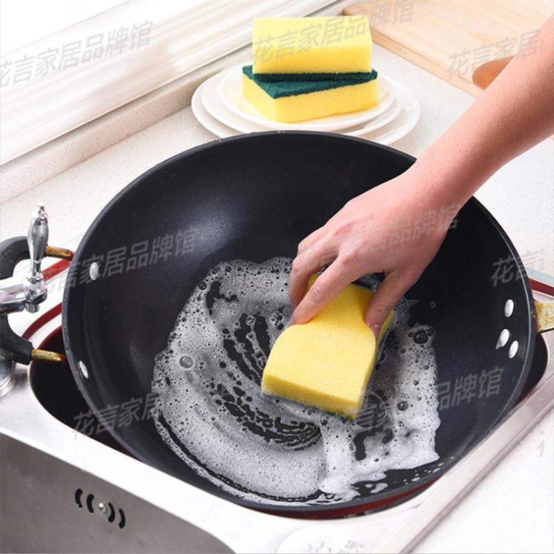 纳米洗碗海绵魔力擦百洁布洗碗布锅刷清洁刷洗锅神器海绵擦刷碗布