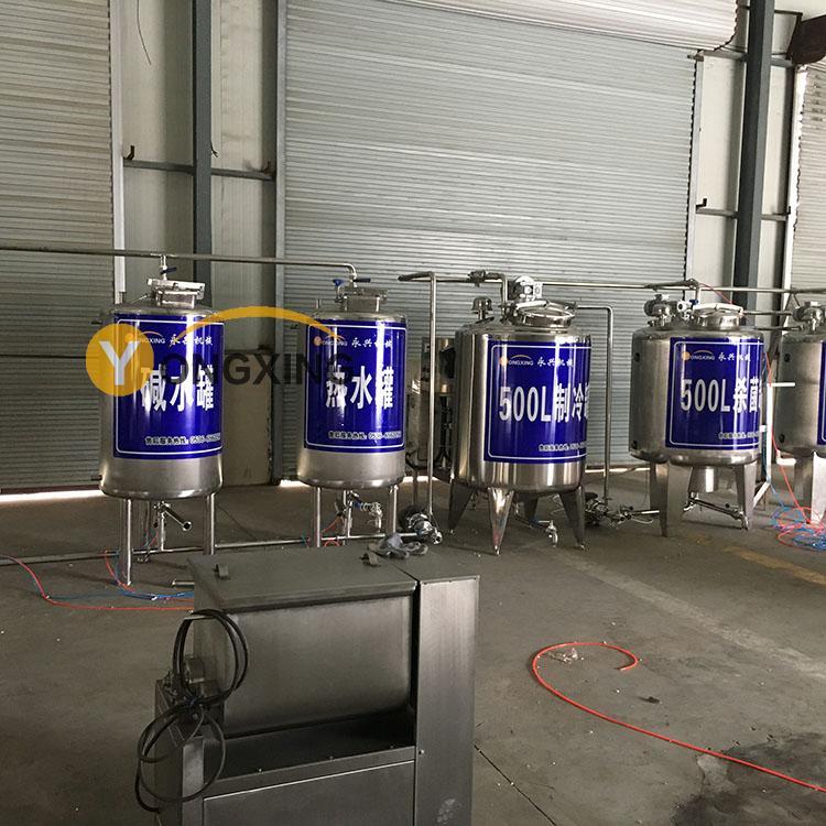 厂家直销牛奶制造设备巴氏鲜牛奶生产线袋装牛奶全自动灌装机定金