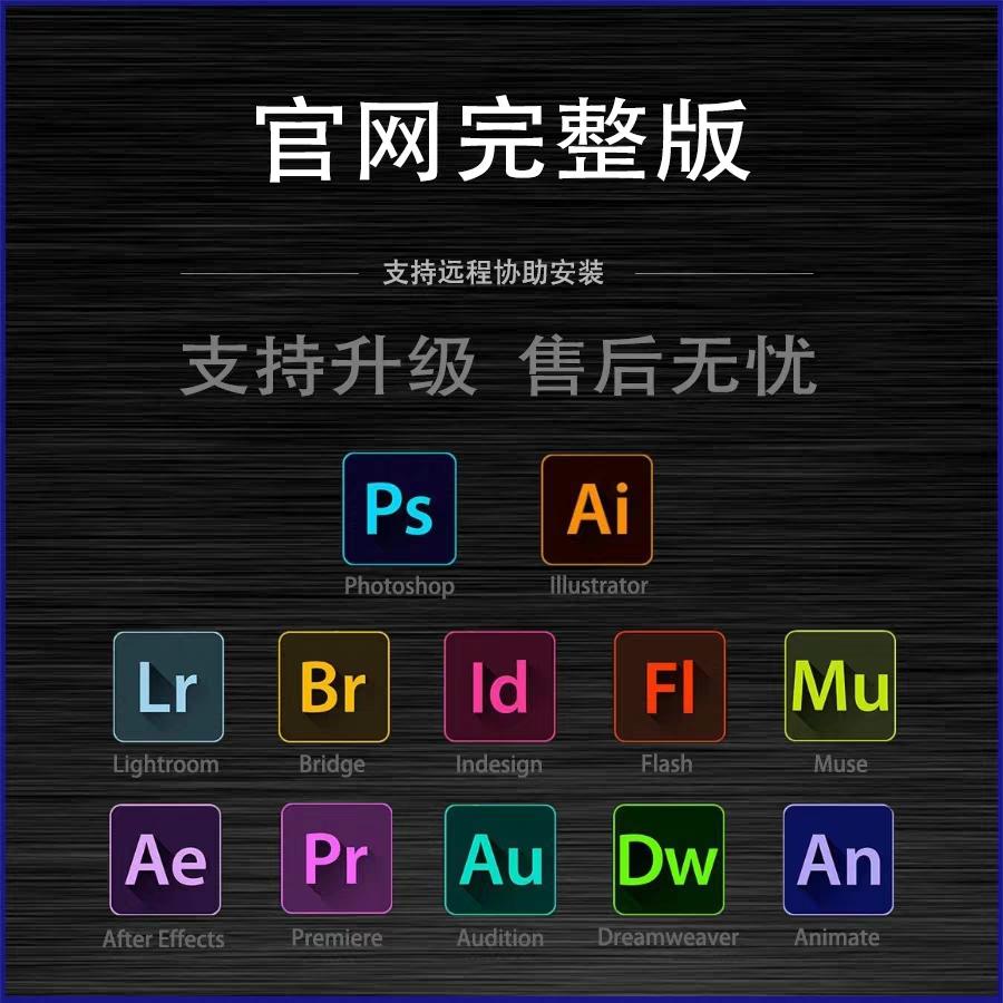 PSP线材软件PR AI LR 下载苹果mac破解版2020Photoshop中文英文版