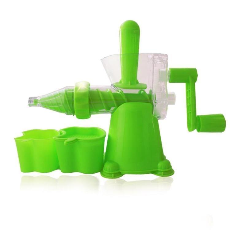 榨汁机汁多功能麦苗价机迷你手动手摇榨果汁原汁家用蔬菜。炸机