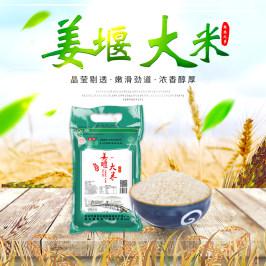 江苏姜堰大米5Kg促销农家香米新米南粳9108米软食粥营养优质粥米