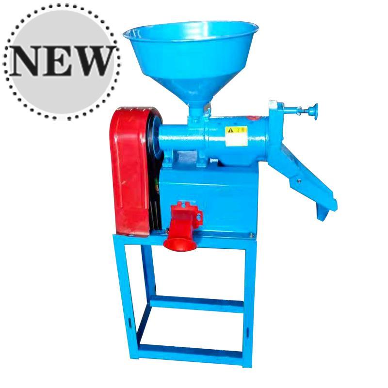 小型碾米机多功能家用22E0v全自动傻瓜打米机器磨粉大米加工设备