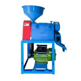 小型碾米机多功能家用220v全自动傻瓜打米机器磨粉大米加工设备