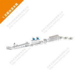 高碑店豆腐丝机设备豆制品加工机器生产线多功能自动切条机商用