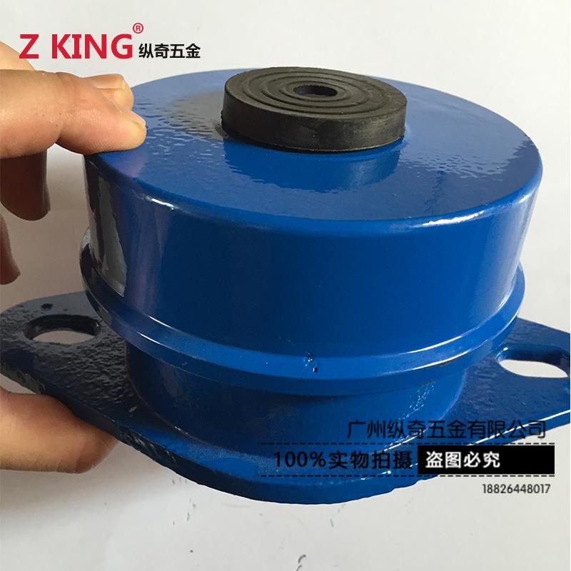 国标ZD型坐式阻尼弹簧减震器风机水泵中央空调冷却塔设备减振器