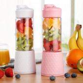 榨汁机迷你水果小型学生榨汁杯便携式炸果汁机家用手动榨汁豆浆机