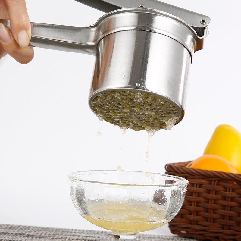 葡萄榨汁机榨油机压榨机手动猪油渣不锈钢家用水果手工特色方便大