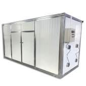 环保型茶叶腊肠烘干房 辣椒箱式烘干机 多功能电加热干果烘干箱