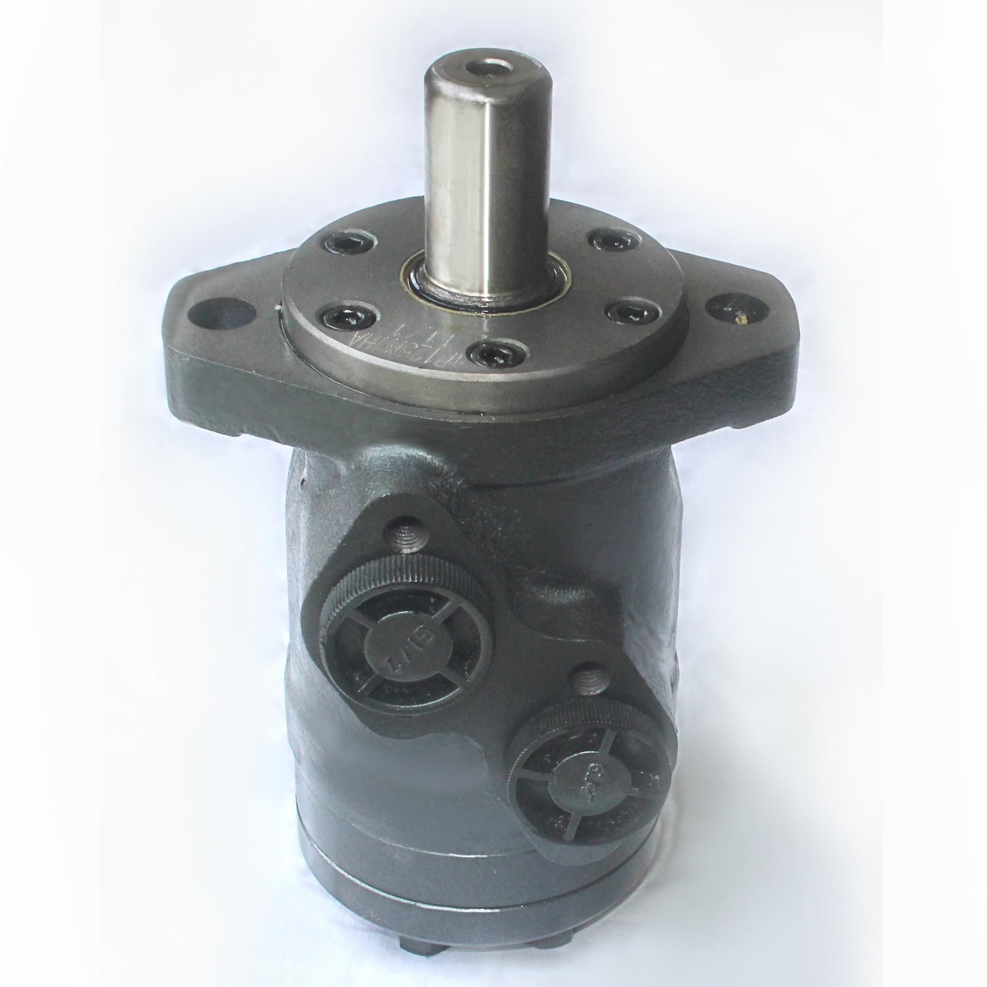 摆线液压马达低速大扭矩高速2000转油压小型双向传动旋转行走驱动