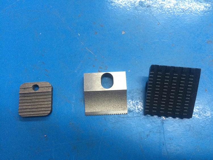 JD16电动打包机配件 切刀  拉紧齿板 熔接齿板
