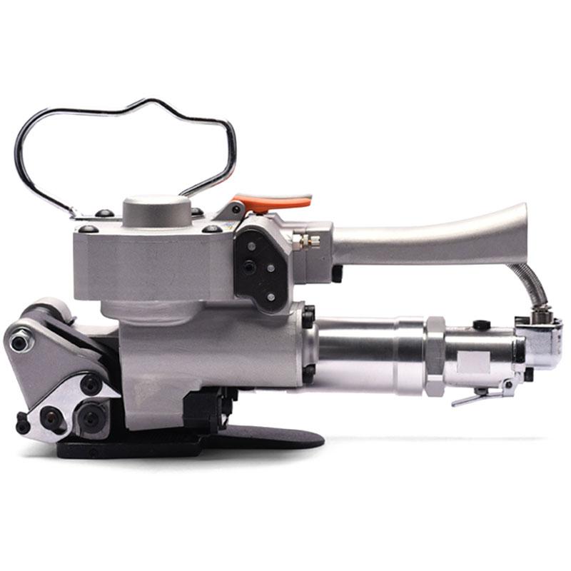 A-19气动塑钢带打包机铝卷打捆机手持砖厂捆扎机拉紧器铝棒捆包机
