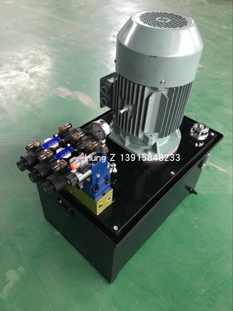 液压站 液压系统 11KW 3路加电磁阀 油压泵站 油压站