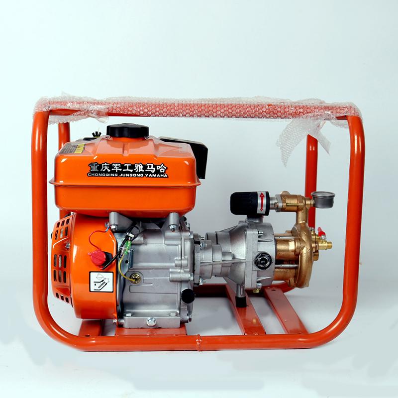 雅马哈新型汽油直连高压打药泵果园果树打农药机器园林机动打药机
