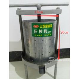家用手动小型钢板油榨机榨油机压油机猪油渣压饼机压榨机加厚