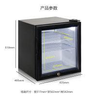 凯得JC-46/HC留样柜单门幼儿园食品小型柜商用展示柜迷你小冰箱