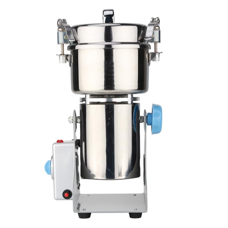 药材粉碎机家用五谷杂粮磨粉机干磨机小型打粉机超细商用研磨机