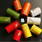 ~小号茶叶罐密封金属铁罐红茶绿茶通用茶叶罐子包装铁盒子空盒。