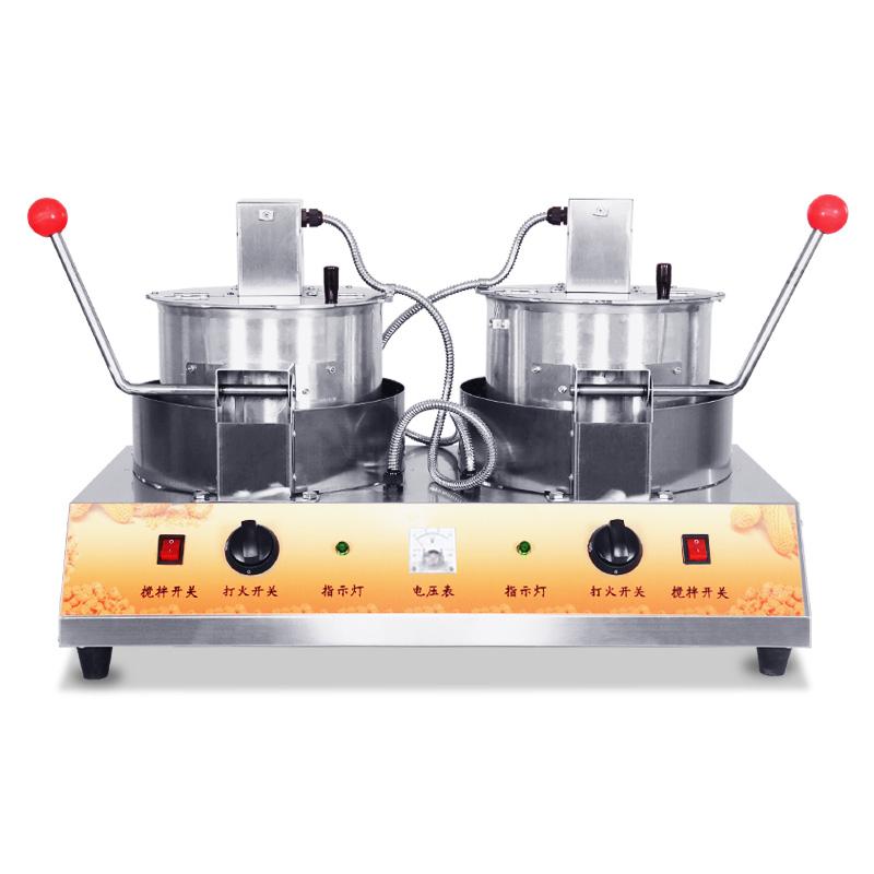 爆米花机商用全自动摆摊用玉米膨化机老式玉米膨化机炸爆米花机器