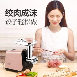 易尚厨不锈钢绞肉机家用电动多功能小型绞肉馅机碎菜打蒜泥灌肠机