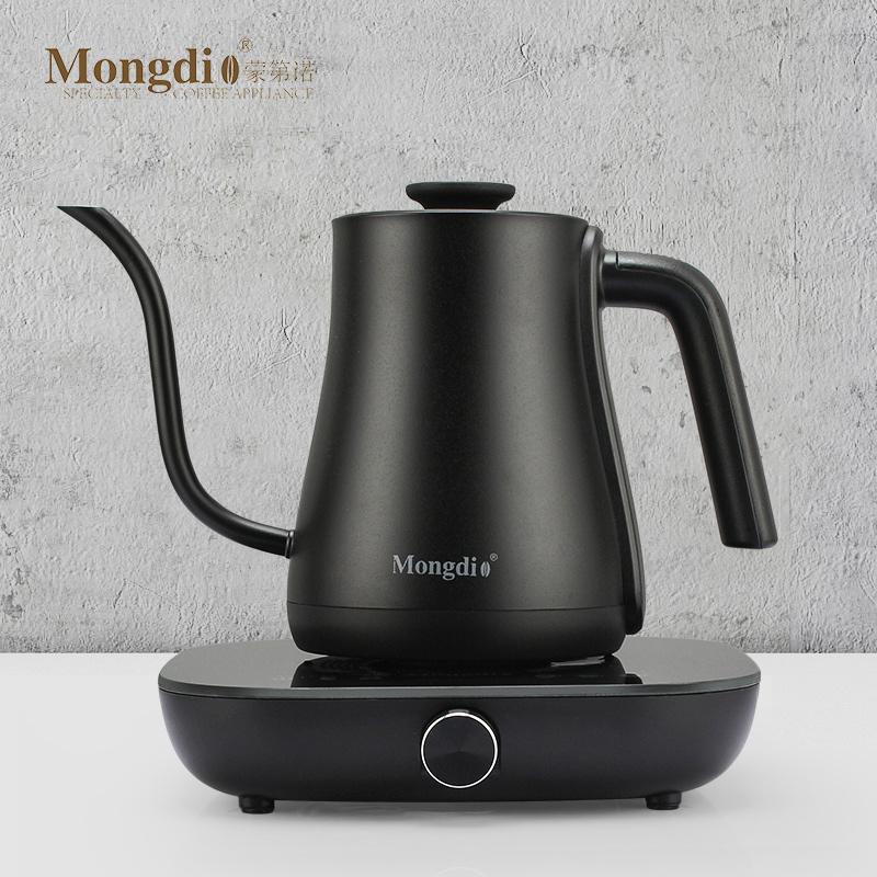 Mongdio电热控温手冲咖啡壶家用智能温控手冲壶细嘴壶挂耳长嘴壶