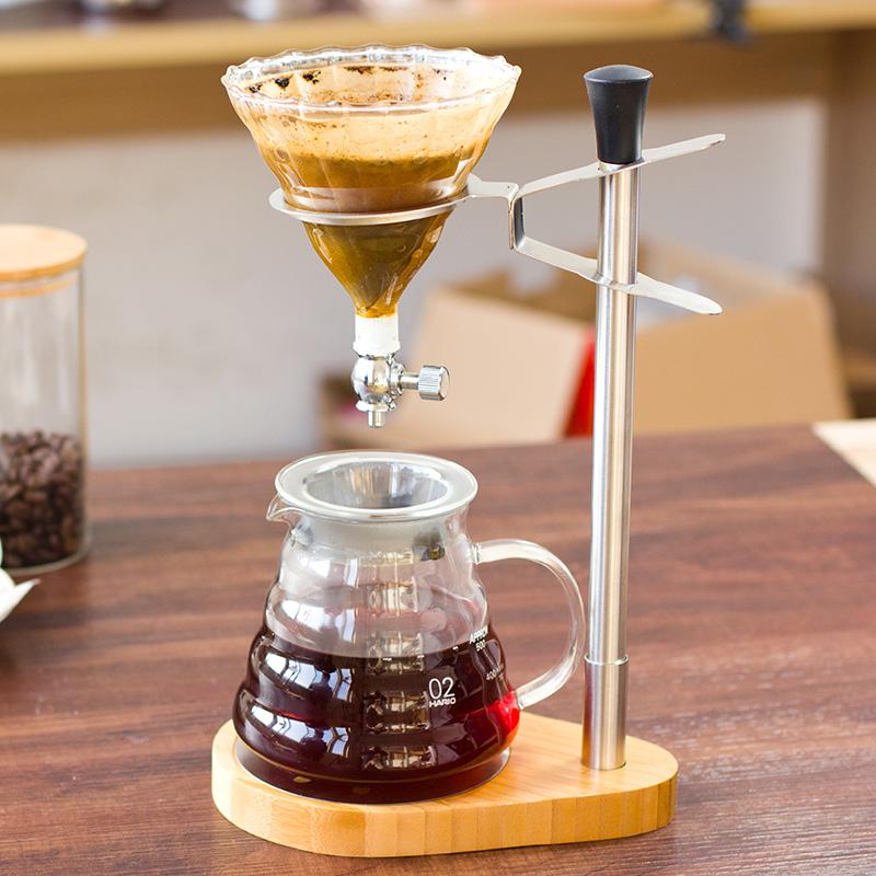 啡忆手冲咖啡壶套装家用滴漏式咖啡手冲壶滤杯滤纸过滤器手冲支架