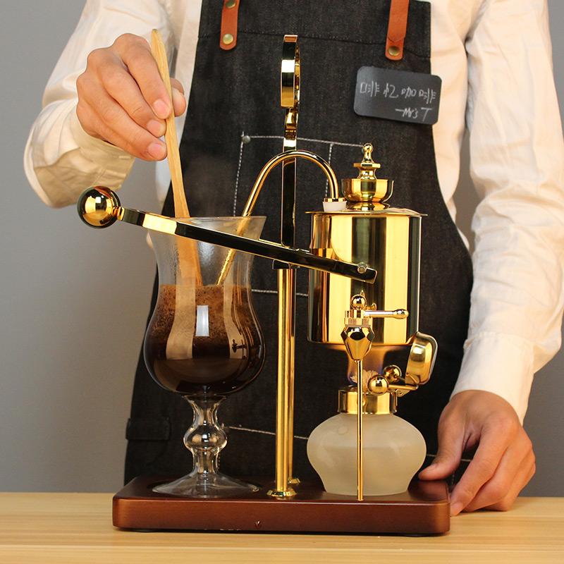 啡忆 比利时咖啡壶 家用皇家比利时咖啡壶套装虹吸式手动煮咖啡机
