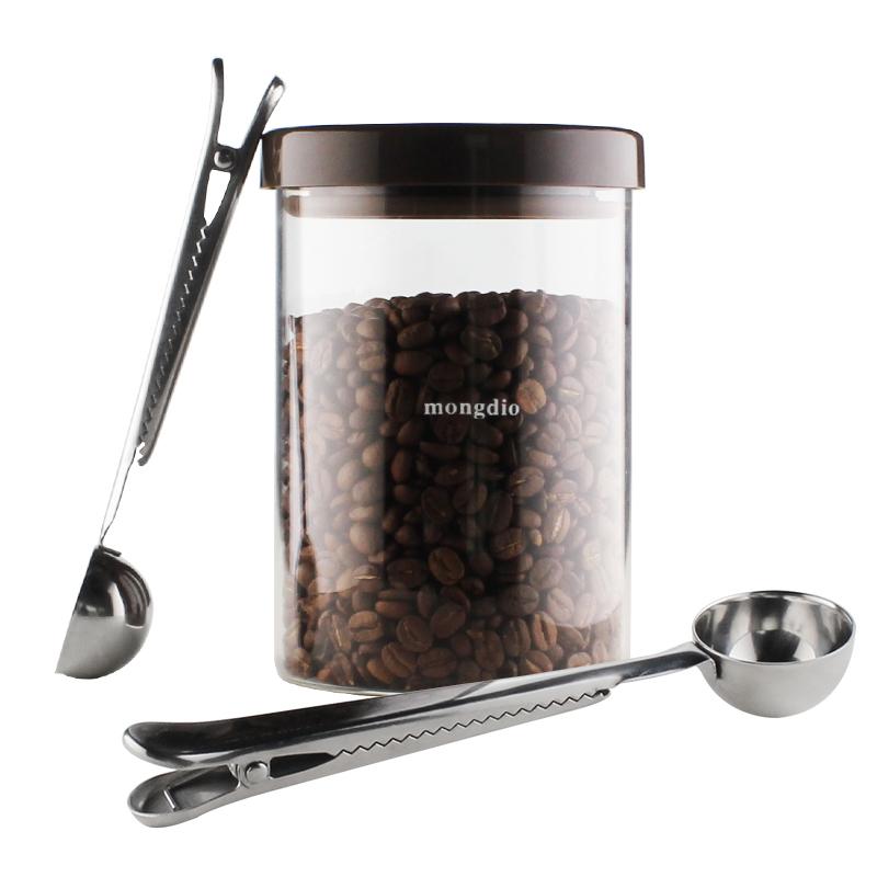 啡忆 不锈钢量勺 金银两色咖啡量豆勺 奶粉刻度计量勺 烘焙工具