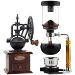 啡忆 咖啡壶 家用玻璃虹吸壶 虹吸式 手动煮咖啡机 咖啡具套装