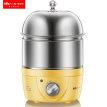 小熊蒸蛋器双层自动断电煮蛋器不锈钢家用小型定时早餐煮鸡蛋神器